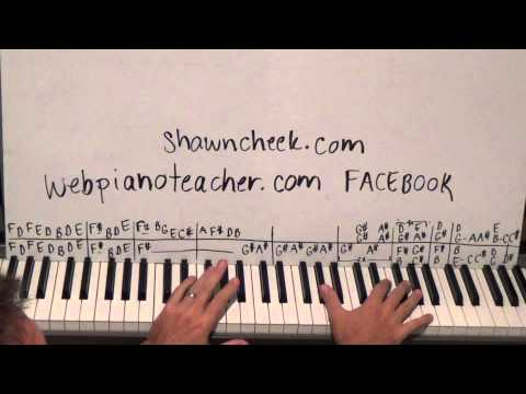 Piano Lesson How To Play And Sing Summertime Tutorial - The 29th Hired Request!