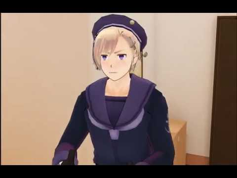 (Hetalia MMD) When Norway Wants  Iceland To Call Him Big Brother