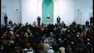 (Bengali) Friday Sermon 28th Jan 2011 God's love for the Holy Prophet(saw)