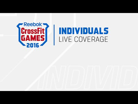 The CrossFit Games - Individual Clean Pyramid