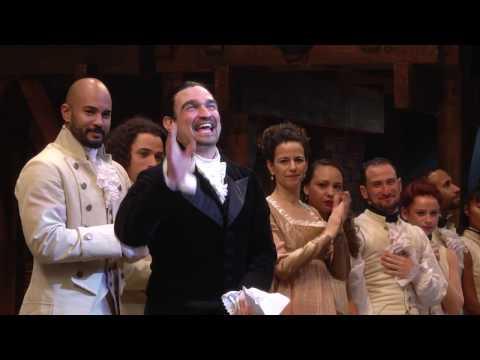 Hamilton Special Performance - Curtain Speech by Javier Muñoz
