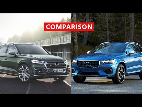 2017 Volvo Xc60 Vs 2017 Audi Q5 Comparison Interior Exterior Test Drive