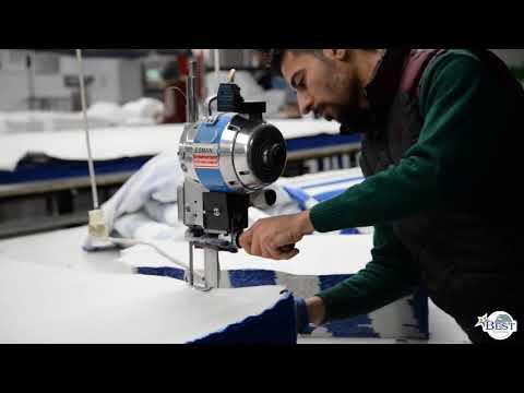 Home Textile Production Process Video