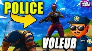On Deal powder ... Police Vs Thieves! Fortnite Saving the World