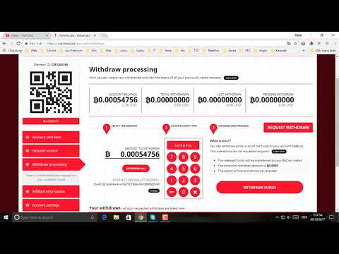 Hướng dẫn rút tiền từ Carismo về blockchain