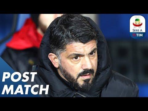 Atalanta 1-3 Milan | Gennaro Gattuso Post Match Press Conference | Serie A