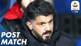Atalanta 1-3 Milan | Gennaro Gattuso Post Match Press Conference | Serie A