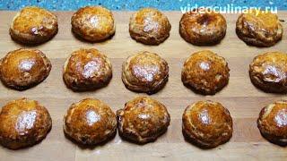 Булочки с яблочной начинкой - Рецепт Бабушки Эммы
