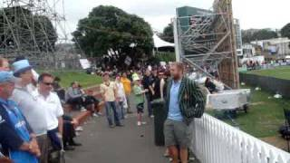 "Barmy Army in wellington 2008  - ""jesse Ryder"" Part 2"