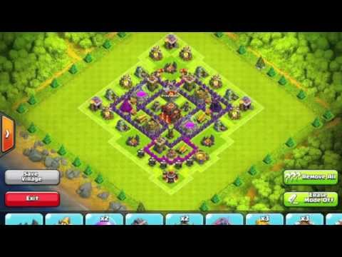Ultimate TH 6 Defense - Base Design Video Tutorial - Clash of Clans