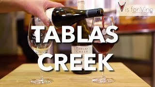 "Tablas Creek Vineyard - ""V is for Vino"" wine show"