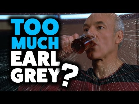 How Much EARL GREY Does Picard Drink? (Exposing Star Trek Stereotypes)