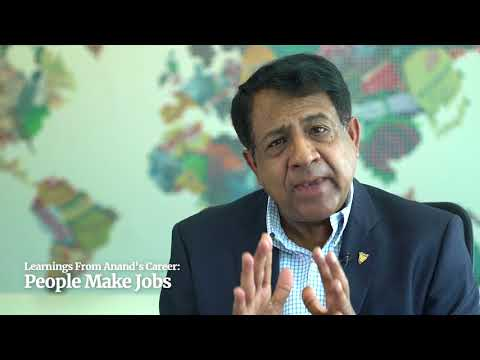 Anand Kripalu - MD & CEO of Diageo India - Advise for a successful career