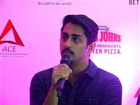 Actor Siddarth launching RockNRoll Chennai full video