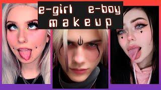E-GIRL/BOY MAKEUP TUTORIAL COMPILATION