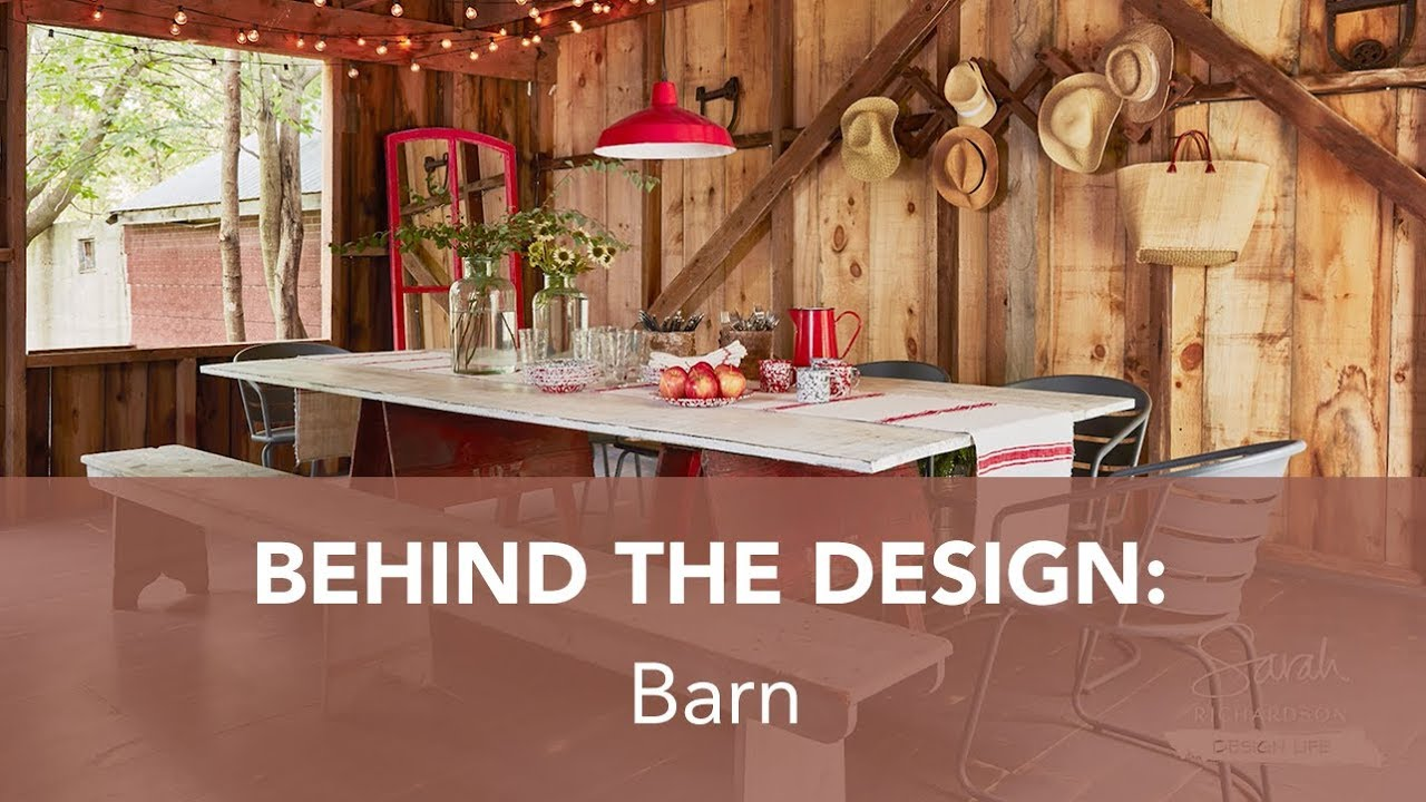 Behind The Design Barn Sarah Off The Grid S2 Youtube