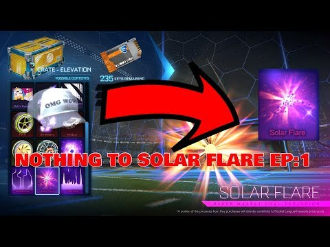 TRADING FROM NOTHING TO SOLAR FLARE! *EP:1*