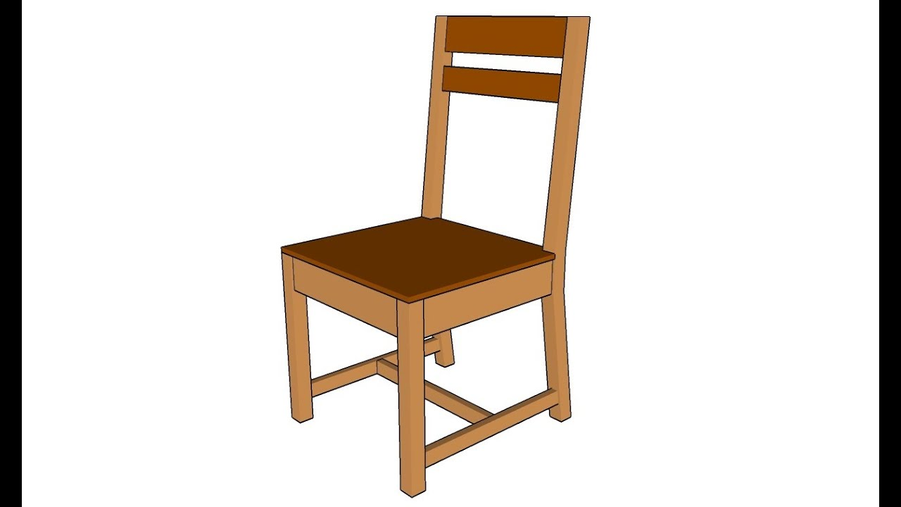 How to build a chair  YouTube