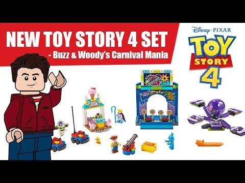 Lego Toy Story 4 Buzz Woody S Carnival Mania 10770 Youtube
