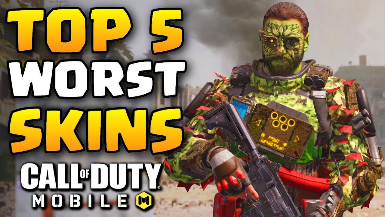Top 5 Worst Soldier Skins In Call Of Duty Mobile Cod Mobile