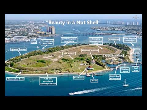 Quick Overview Of Peanut Island, Historic JFK Bunker And Maritime Museum – Palm Beach, FL (4/1/17)