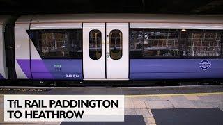 TfL Rail Paddington to Heathrow