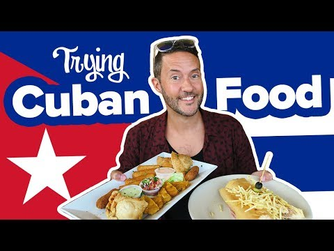 Eating Cuban Food In Miami. Little Havana Food Tour 🍽 First Time Trying Cuban Food.