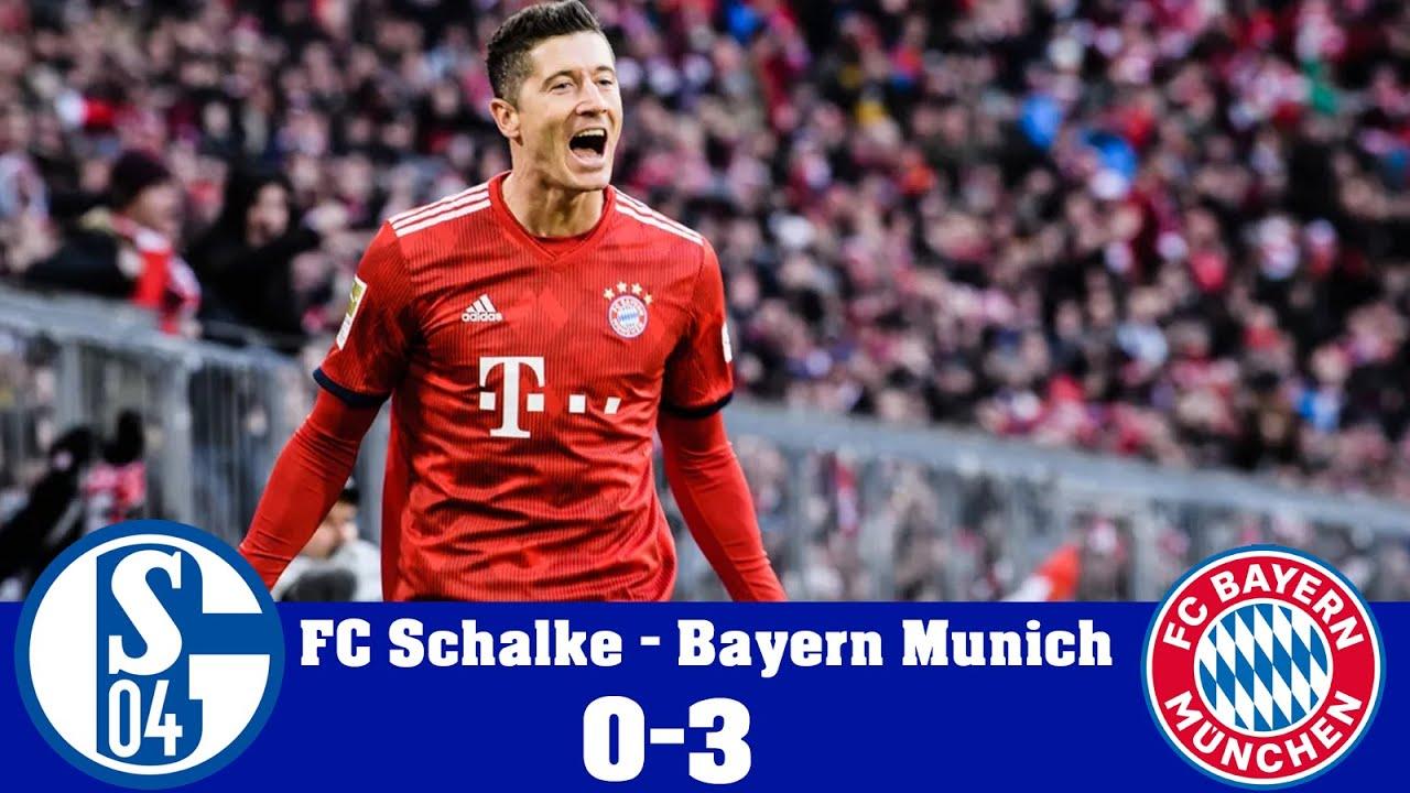 Download FC Schalke VS FC Bayern Munich (0 - 3) - HIGHLIGHTS & ALL GOALS *HD*