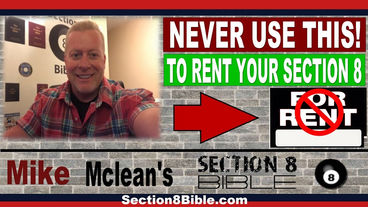 Section 8 Landlord Tips - How To Rent Out Section 8