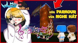 Mini World PARKOUR HÀI VCL #3 : XUẤT HIỆN CA SĨ GIẤU MẶT KHI ĐANG PARKOUR | MK Gaming