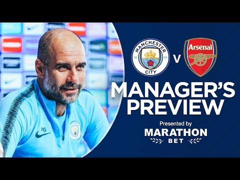 Pep Guardiola previews Man City v Arsenal | PRESS CONFERENCE
