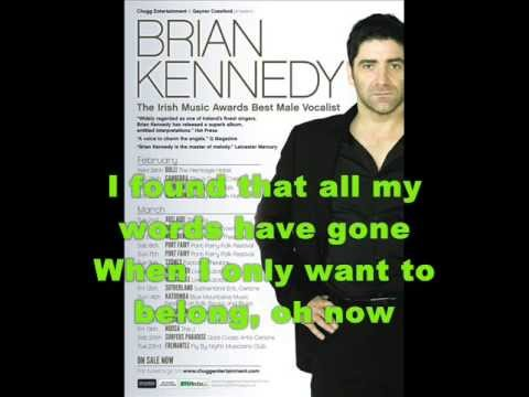 Brian Kennedy - For One Kiss [With Lyric]