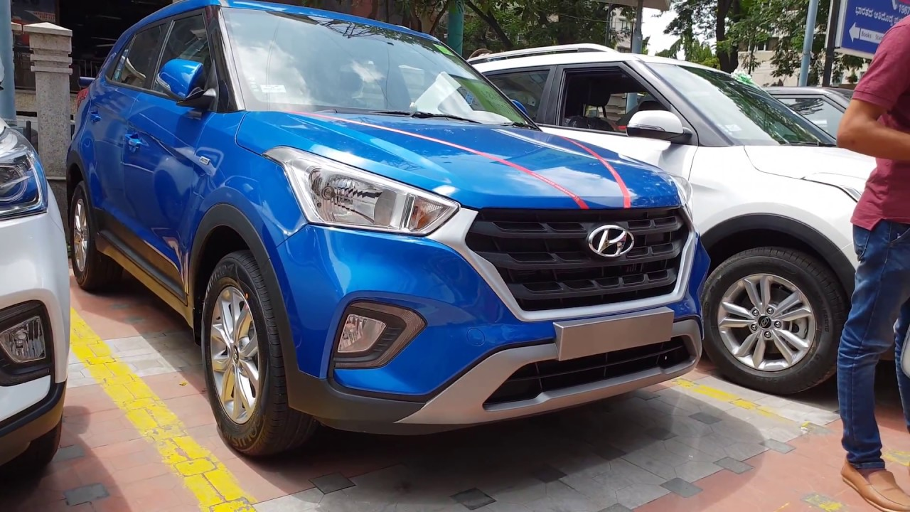 2018 Hyundai Creta Marina Blue In 4k 60fps New Color The Wait Is Over Finally Found One