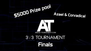 Arena-tournament.com may 2013 3v3 Tournament Finals 5000$ prizepool