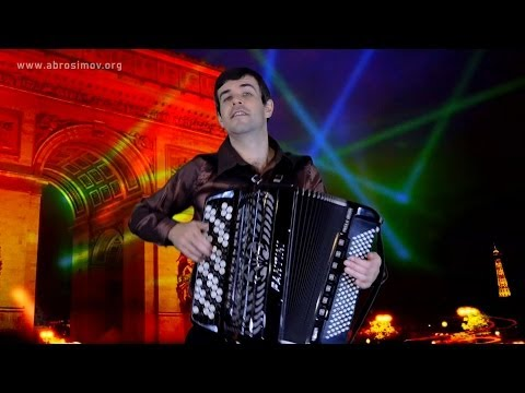 Попурри на песни Джо Дассена (инструментальная версия, баян) Joe Dassin songs on the accordion