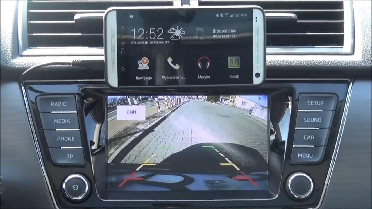 Android in Fabia III Bolero infotainment system - YouTube