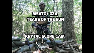 Ground Zero Airsoft | Tears of the Sun 2018 | Krytac CRB Scope Cam Tutorial