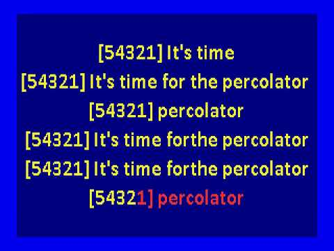 Cajmere  - Coffee Pot (It's Time For the Percolator) (karaoke)
