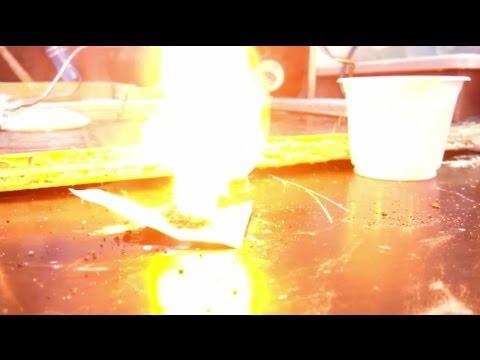 Sodium nitrate gunpowder