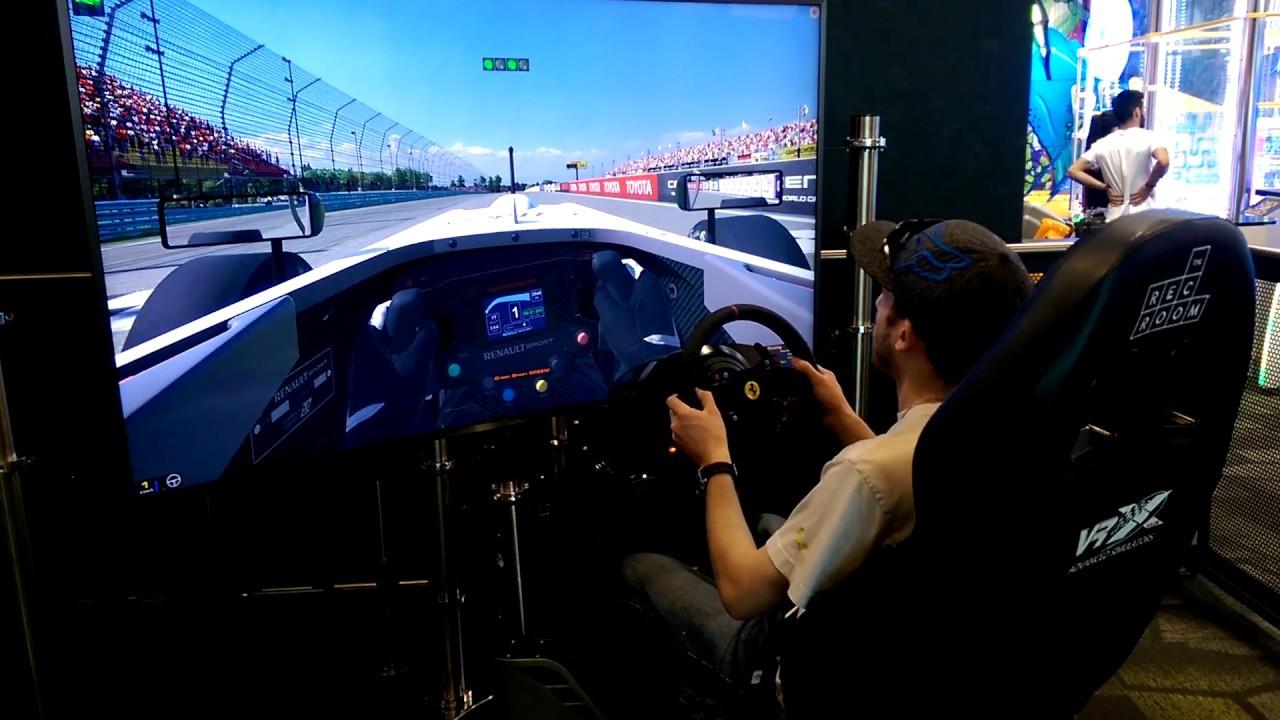 iRacing Simulator Setup Rig