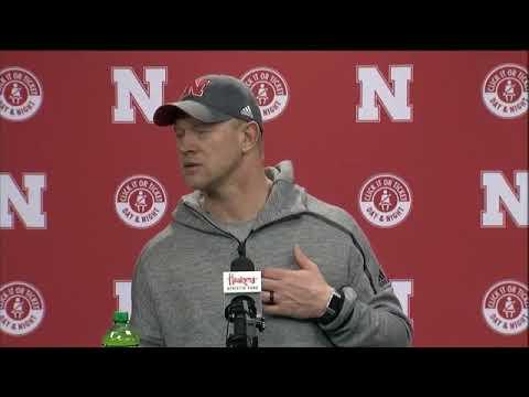 Scott Frost discusses the 2019 Nebraska Signing Class