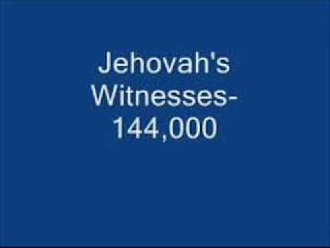 How to stump a Jehovah's Witness on the 144,000