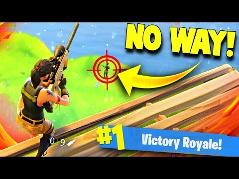 EPIC SNIPER NOSCOPE TO WIN! & TROLLING NOOBS 😂 (Fortnite Battle Royale Funny Moments)