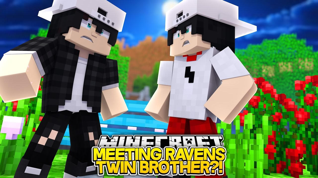 MEETING RAVEN'S TWIN BROTHER!! w/Little Carly and Leo (Minecraft Roleplay)