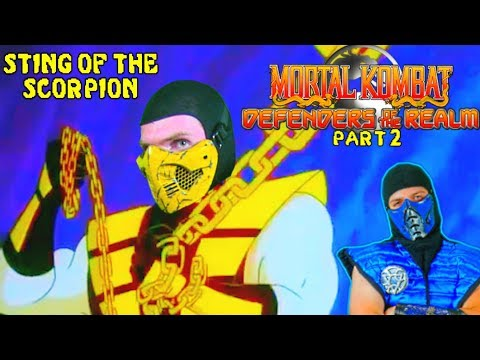 REAL MORTAL KOMBAT REACTS - Defenders of the Realm (Part 2) | MKX PARODY REACTION!