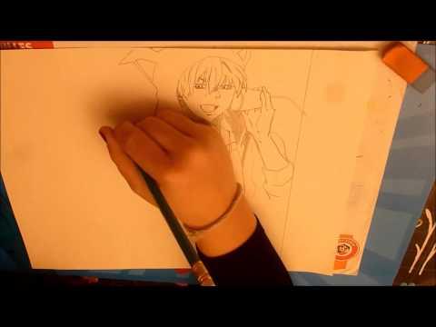 Speed art : Dessin manga ( Kuroko no Basket)