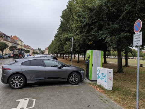 Talking some more about 100kW charging opportunities on the Jaguar I-Pace