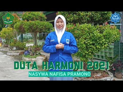 DUTA MODERASI BERAGAMA TINGKAT MADRASAH ALIYAH 2021 : MAN IC SAMBAS (Nasywa Nafisa Pramono)