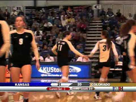 KUJH-TV (Lawrence) Broadcast of KU Volleyball Vs Colorado
