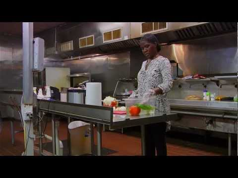 Iowa Alum Peter Nkumu and Elikia Restaurant on YouTube